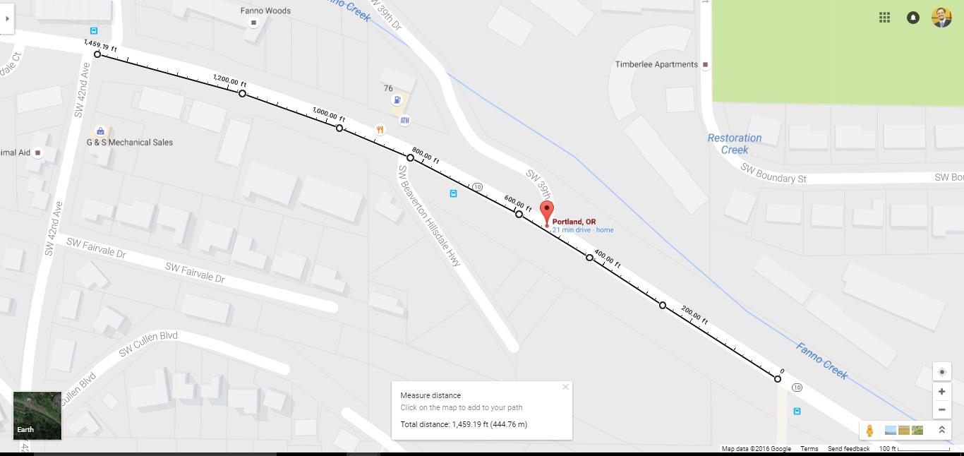 Southwest Portland - Google Maps - Google Chrome 842016 110510 PM ...